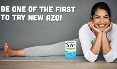 FREE AZO Complete Feminine Balance Probiotic Sample!