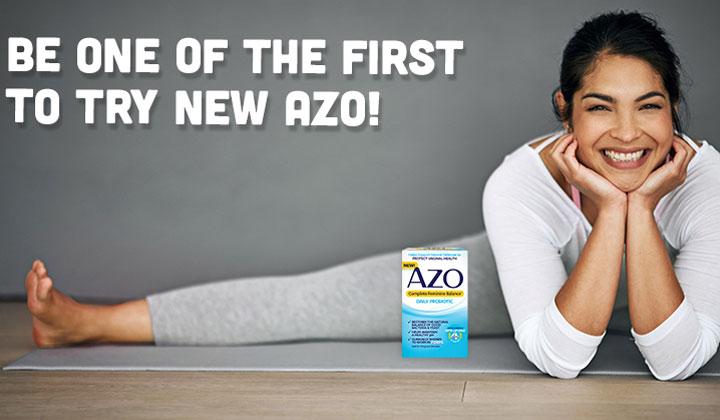 FREE AZO Complete Feminine Balance Probiotic Sample