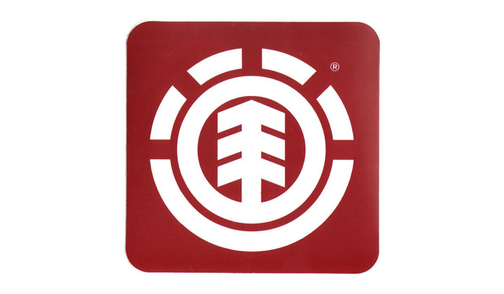 FREE Element Skateboard Sticker
