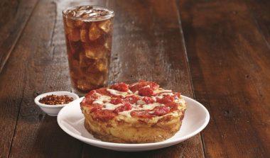 FREE Mini Cheese or Mini Pepperoni Deep Dish Pizza