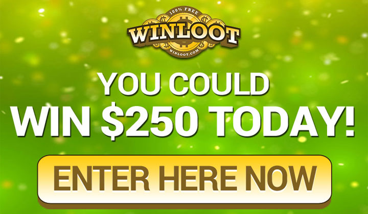 Winloot Free Sweepstakes – Email Submit