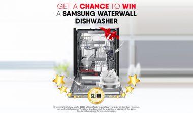 FREE Samsung Dishwasher!