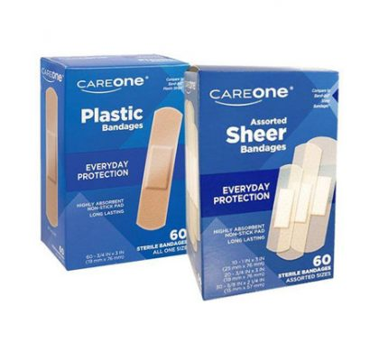 FREE Careone Sheer or Plastic Bandages at Food Lion