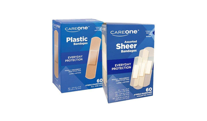 FREE Careone Sheer or Plastic Bandages