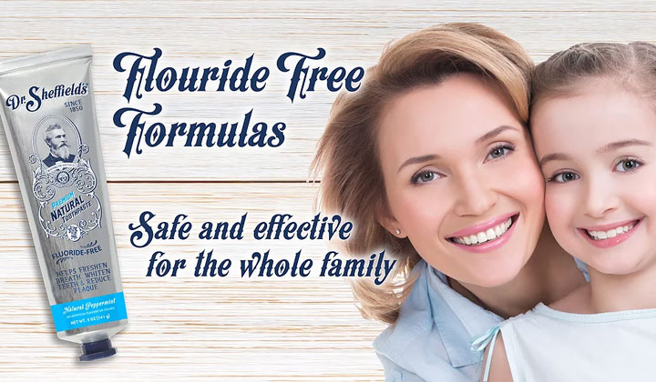 FREE Dr. Sheffield's Toothpaste Sample