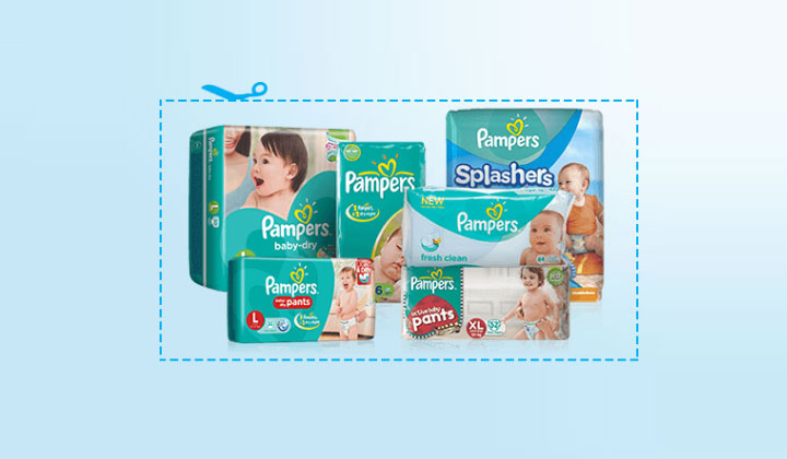 FREE Pampers Coupons