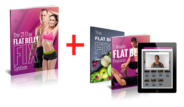 Flat Belly Fix: Melted 84 LBS Of Fat