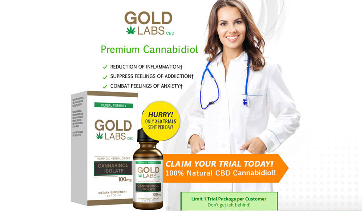 Gold Labs CBD Oil – Free Trial