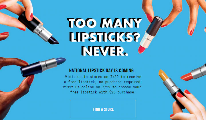 MAC Free Lipstick