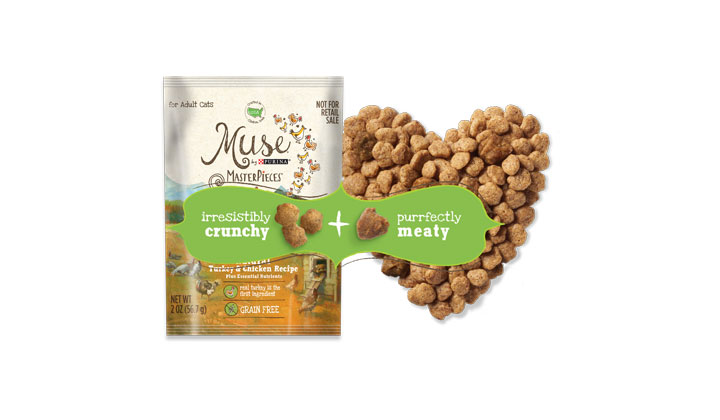 Purina Muse MasterPieces Natural Dry Cat Food