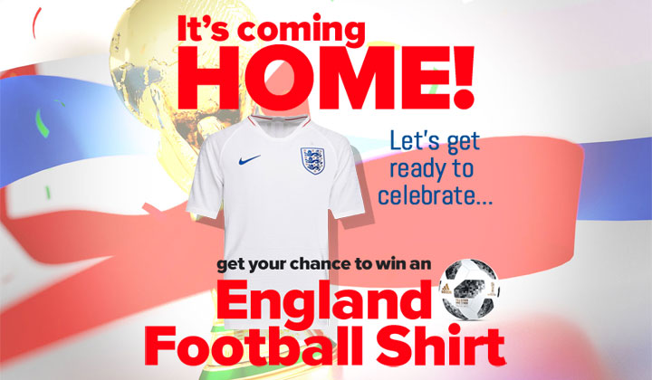 Win an England Football Shirt