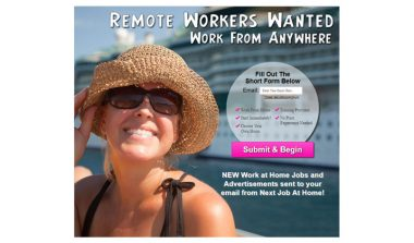 Work From Anywhere – Email Submit